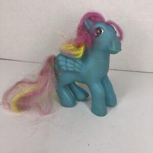 Vintage G1 Twinkle Eye My Little Pony Sweet Pop Pegasus Blue Rainbow A2