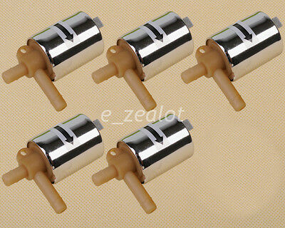 5pcs 12V Pneumatic Electric Solenoid Valve for Gas Water Air Normally closed