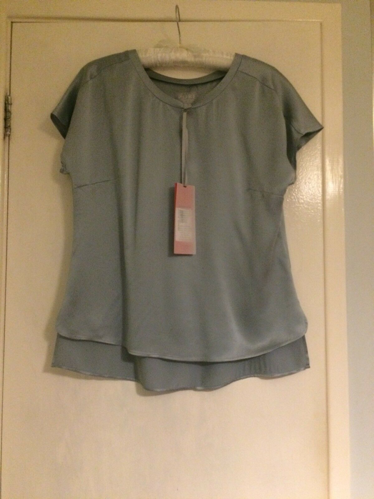 PURA SETA Collezione T-shirt Alba Nebbia 8