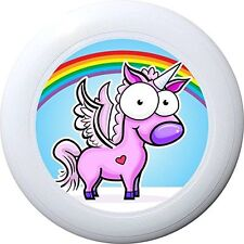 NG - Eurodisc 175g 4.0 Ultimate BIO-Kunststoff Frisbee Unicorn Rainbow WEISS