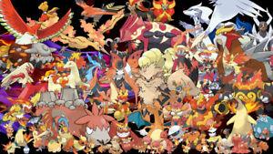 Pokemon-Card-Bundles-30-Fire-Types-RARE-REV-HOLO-GUARANTEED-NEW-JOBLOT