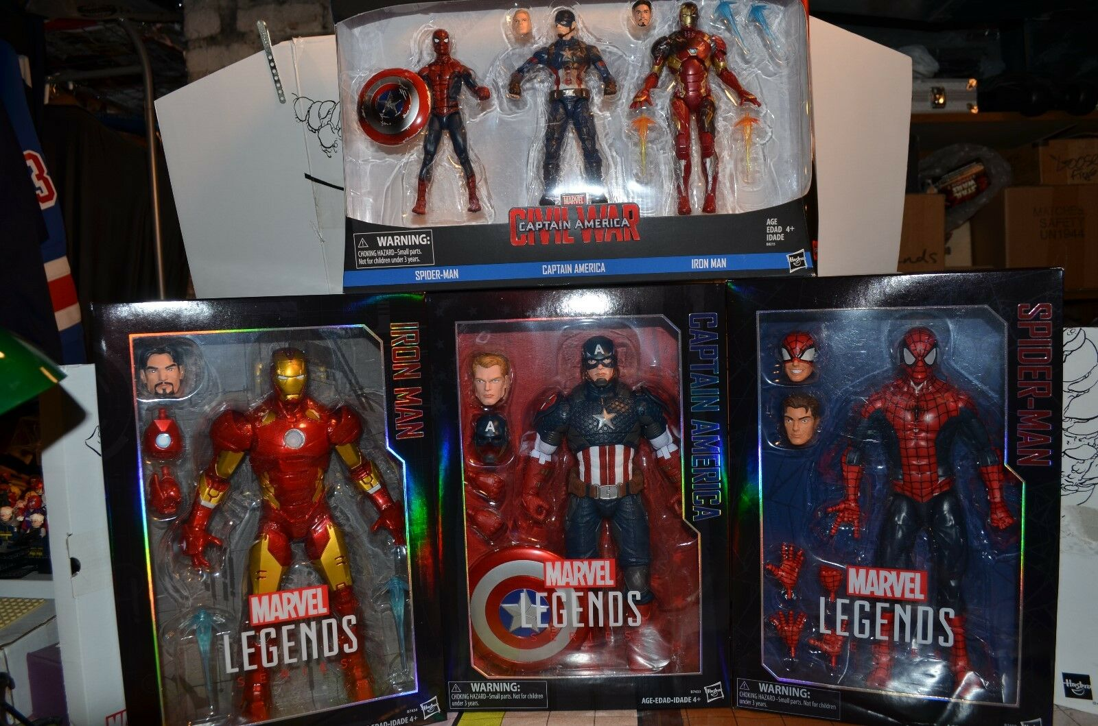 Marvel - legenden brgerkrieg menge symbole.