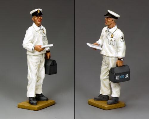 KING /& COUNTRY WW2 JAPANESE NAVY JN012 DECK CREW PETTY OFFICER MECHANIC MIB