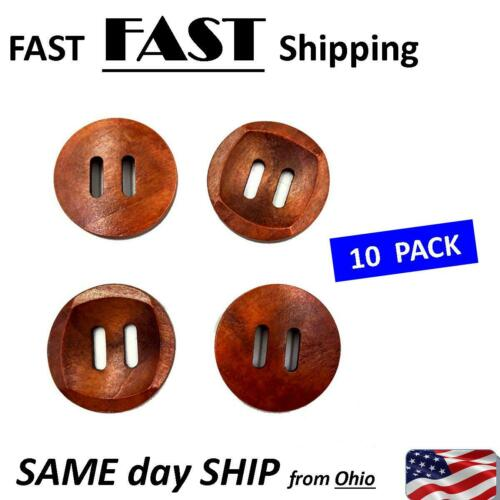 2 hole Large Wood Buttons