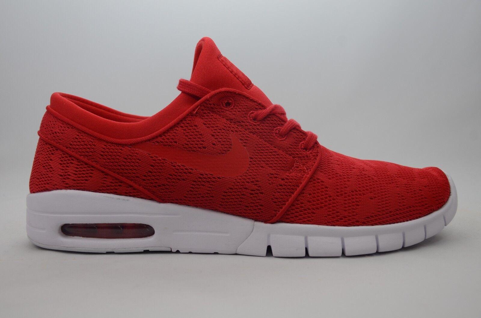 Nike Stefan Janoski Max Red/White Men's Size 8.5-11 New in Box 631303 662