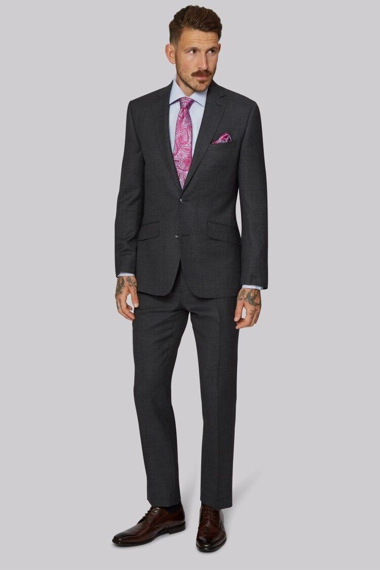 Moss 1851 Men's 100% Wool Suit - Trousers 32R - RRP  - Blazer 38R - RRP