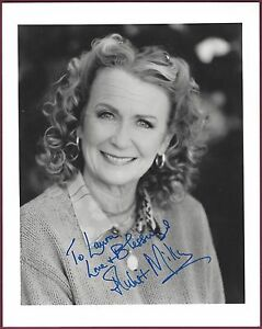 Juliet-Mills-Actress-Signed-8-034-x-10-034-Color-Photo-COA-UACC-RD-036