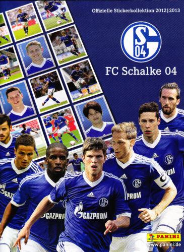 50 stickers sélectionner panini FC schalke 04 2012//2013