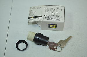 Square-D-3-Position-Maintained-Rotary-Key-Switch-Model-D3L60