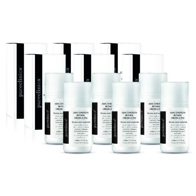 250% Strength Retinol Cream – 50ml/ 1.7 fl. oz. - 6 bottle SPECIAL OFFER