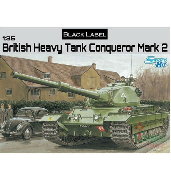 Dragon  35 British Heavy Tank Conqueror - +Dragon 2017 Catalogue