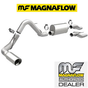 Magnaflow Cat Back Single Exhaust System 04 08 Ford F150 4 6l 5 4l With Muffler Ebay