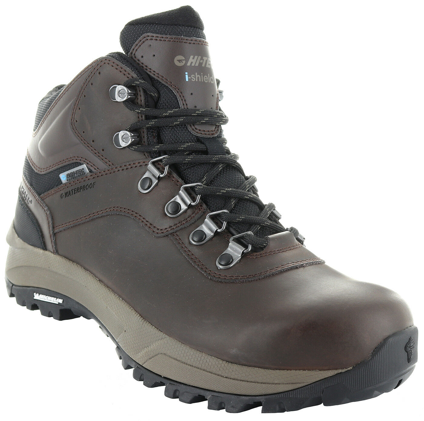 Hi-Tec 52216 Men's Altitude VI-i Dark Chocolate Waterproof Leather Hiking Boots