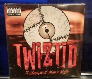 Twiztid - A Sampler of Man's Myth CD SEALED insane clown posse esham lavel icp