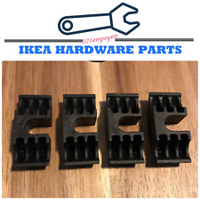 IKEA 122998 Crescent Nut U Wedge Replacement Part for Malm Bed Frame Metal Curve