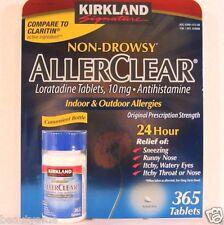 Kirkland Signature Non-Drowsy ALLERCLEAR Loratadine 10mg 365 Tablets