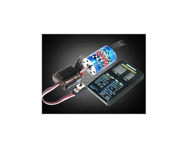 Hobbywing EZRUN COMBO Regolatore a1 18a/motore 2030-12t per 1/18  hw81030000