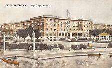 Bay City Michigan The Wenonah General View Antique Postcard V6825