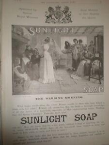 Sunlight-Soap-The-Wedding-Morning-from-John-Bacon-art-advert-1893-ref-AT