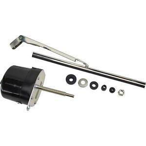 Speedway-Motors-Universal-Hotrod-Ratrod-Black-12-Volt-12v-Electric-Wiper