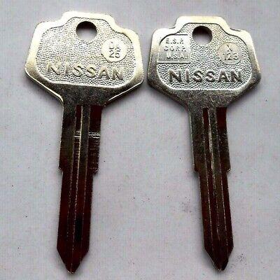DA25 New Key For Subaru /& Nissan Vehicles Replacement Uncut Key Blade X123