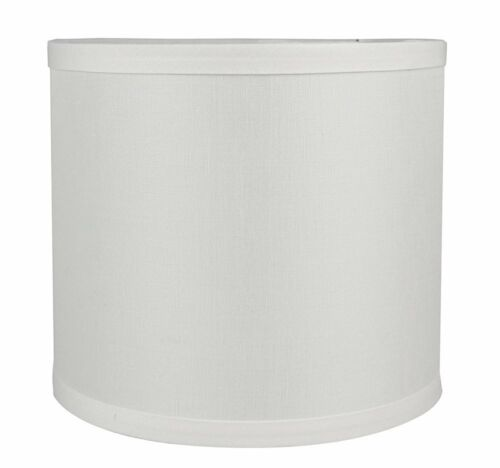 Urbanest Classic Drum Smooth Linen Lampshade