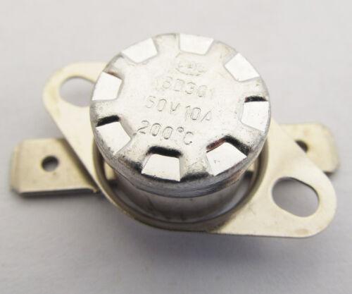 KSD301 Normal Close N.C 10A 250V Thermostat Bimetal Disc Temperature Switch