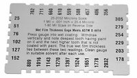 Brand Fuji Spray 3074 Wet Film Mil Gauge