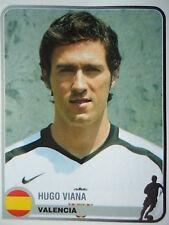 Panini 357 Hugo Viana FC Valencia Champions Europe 1955-2005