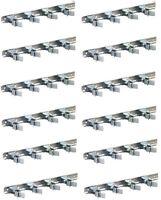 (12) Ea Crawford Sg4 11 Spring Clip Tool Handle Organizer Bar