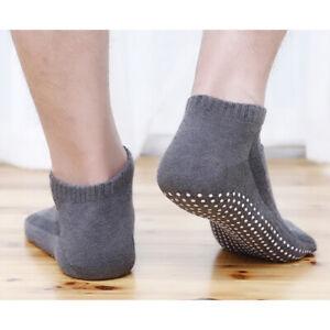 Calcetines-de-Yoga-Antideslizantes-Algodon-1-par-Hombre-Calcetines-de-p-kn