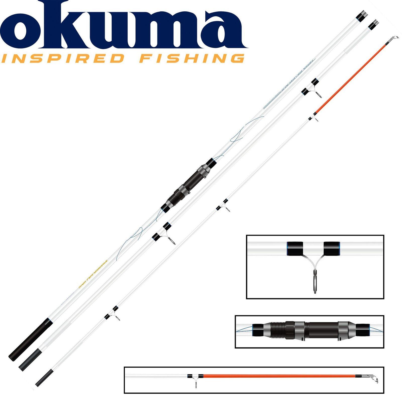 Okuma Distance Salt Surf 420cm 100-200g - Brandungsrute, Angelrute für für für Dorsch c3dba2