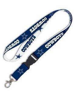 Dallas-Cowboys-Lanyard-Schluesselband-NFL-Football-Keyholder-55-cm-Neu