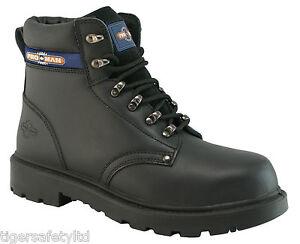 Ladies Pro Safety Work Black Steel Toe Cap Shoes 72570L