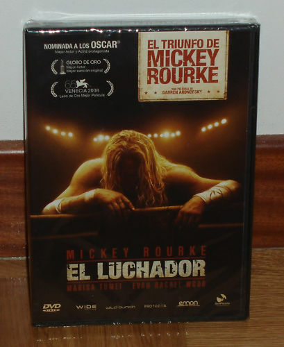 THE WRESTLER DVD SEALED NEW DRAMA MICKEY ROURKE (UNOPENED) R2