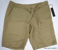 Willi Smith Womens Dress Shorts Womens Sz 8 Belted