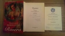 Rasero SIGNED Francisco Rebolledo (Hardback, 1995) 1st UK Edition Book