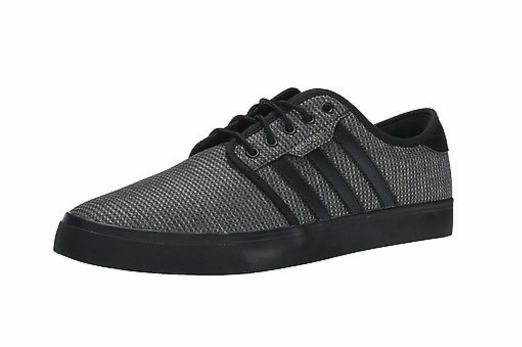 Adidas Originals Men's Seeley Lace Up shoes; Carbon Black; SIZE 9,10,10.5,11,& 12