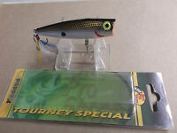 Custom Painted Bass Pro Shops Tourney Special Pop N Splash Popper,tennessee Shad