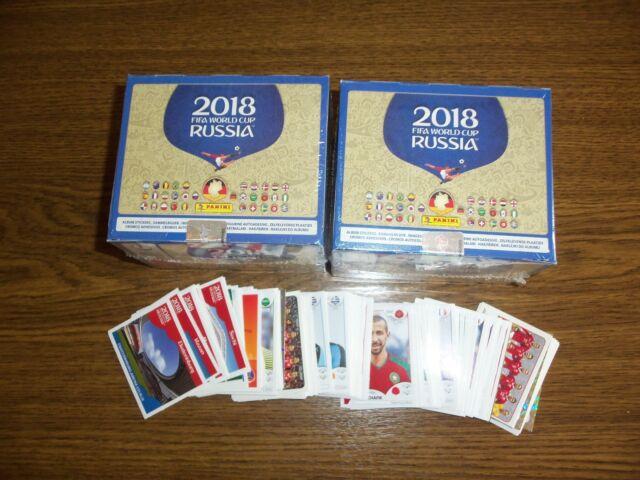 Panini WM   2018    60 Sticker aussuchen