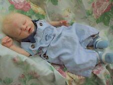 "Reborn baby Samson realistic 20"" 5lb10 newborn artist painted  JosyNN May sculpt"