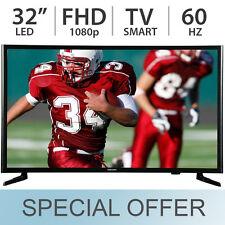 """SAMSUNG 32"""" Inch Smart LED LCD TV 1080p FULL HD 60Hz Wi-Fi - UN32J525D"""