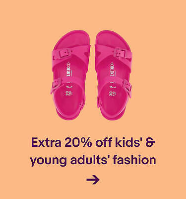 Extra 20% off kids' & young adults' fashion