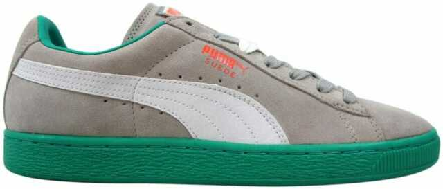 buy popular hoard as a rare commodity best selection of 2019 Puma Suede Classic+ LFS Gray Violet/White-Fluo Teal 356328 11 Men's Size 10