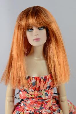 """7-8/"""" 1//4 BJD Wig Dal SD DD Dollfie Doll wig Long Curly Wig Blonde 32"""