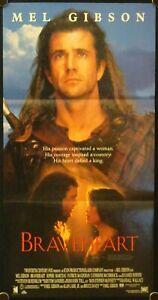 Braveheart 1995 Australian Daybill Mel Gibson Ebay