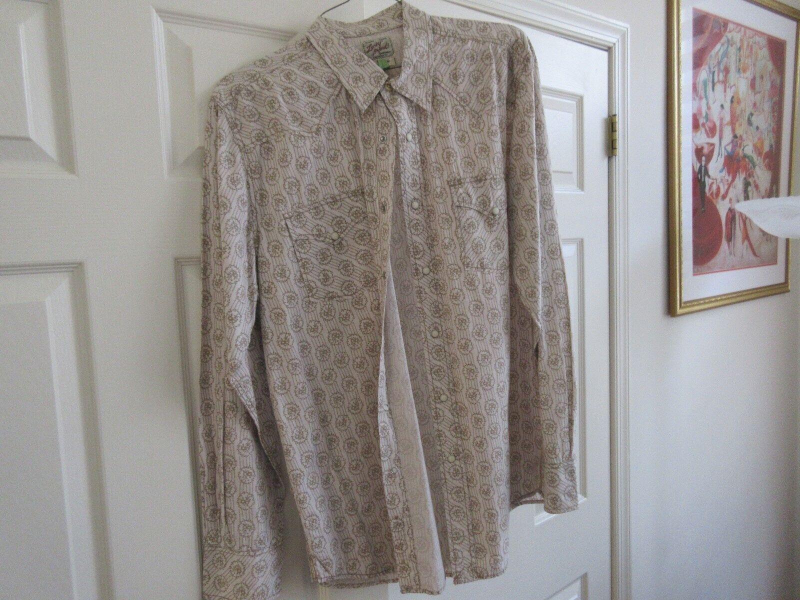 Lucky Brand , X-Large , Men's Long Sleeve Shirt ,100% C