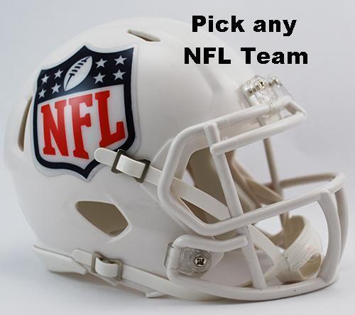 2518c97d NEW RIDDELL REVOLUTION SPEED NFL MINI FOOTBALL HELMET