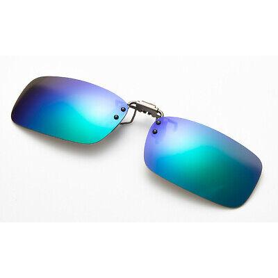 Polarized Flip Up Clip On Sunglasses 100% UV 400 Protection Fishing Men Women