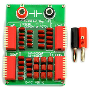 1nF-to-9999nF-Step-1nF-Four-Decade-Programmable-Capacitor-Board